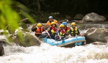 AN ADVENTURE OF GOPENG WATERFALL ABSEILING & WHITE WATER RAFTING