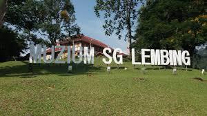 SUNGAI LEMBING TIN MINE TOUR, KUANTAN